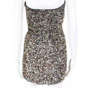 Retrofete Heather sequin mini dress 4 bronze